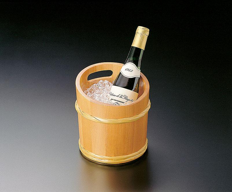 【送料無料】椹・桶型冷酒クーラー