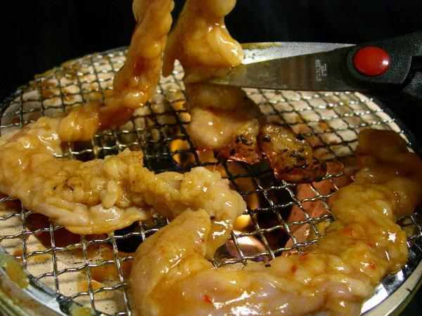 国産牛の小腸の1本焼き!!400g 驚きの長さ!!