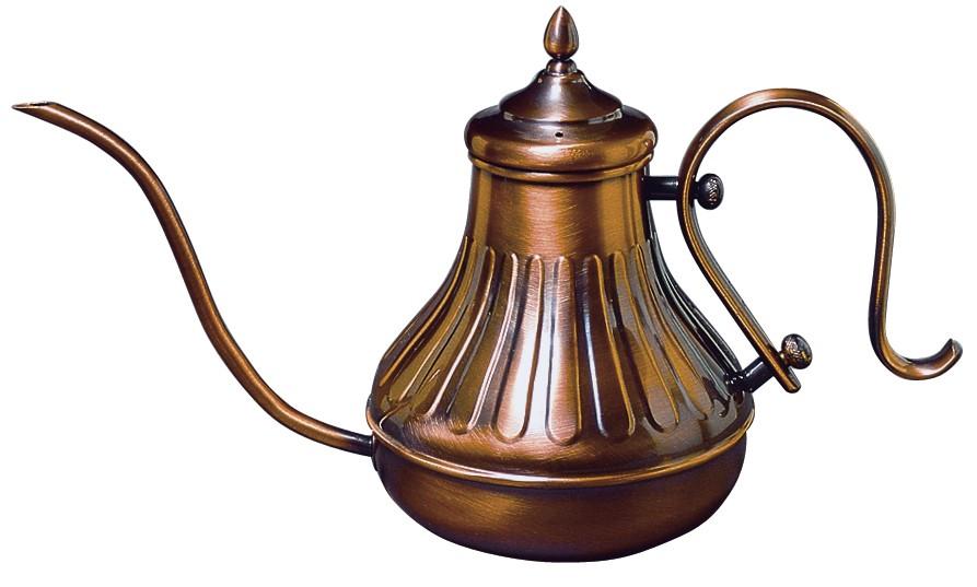 【お取り寄せ商品】カリタ 銅製ポット900こんなポットで珈琲淹れたら・・♪-ドリップ式専用ポット-