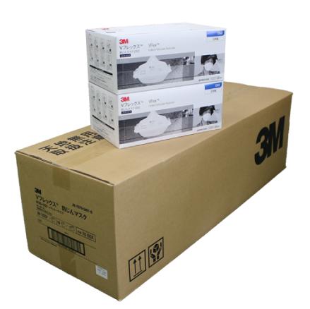 3M防塵マスク Vフレックス【9105J-DS2】 使い捨て防じんマスク〔区分2〕20枚入り×10箱セット