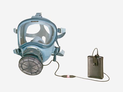アスベスト除去対応 全面形電動ファン付き呼吸用マスク 【興研 BL-700HA】