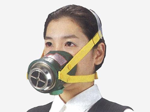 簡易防煙マスク ミニケムラーIII