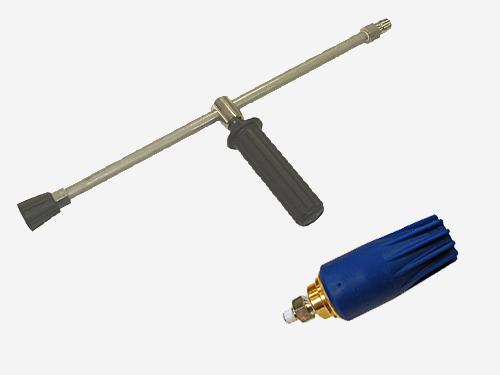 フルテック・精和・ワグナー洗浄機用 トルネードノズル(ターボノズル) MP型 & ランスLC-11 セット