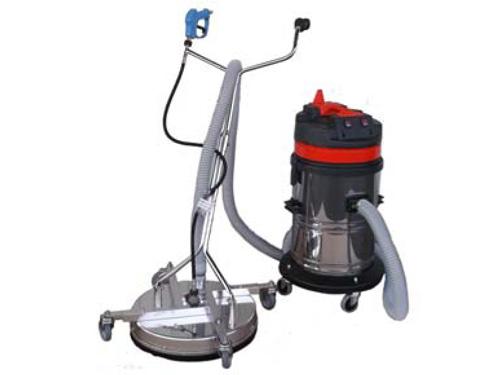 高圧洗浄機とともに!! 高圧洗浄機用 バキューム式サーフェスクリーナーセット 【VSC520S】 (床用)