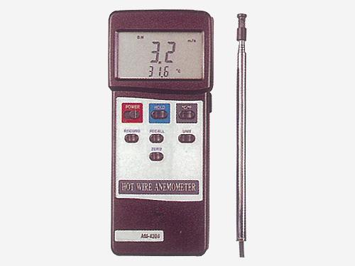 デジタル風速計 (熱線式) 【AM-4204】