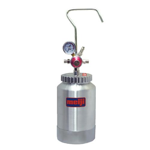 送料無料 明治 加圧タンク(塗料圧送タンク・液圧送タンク) 【P-2A】