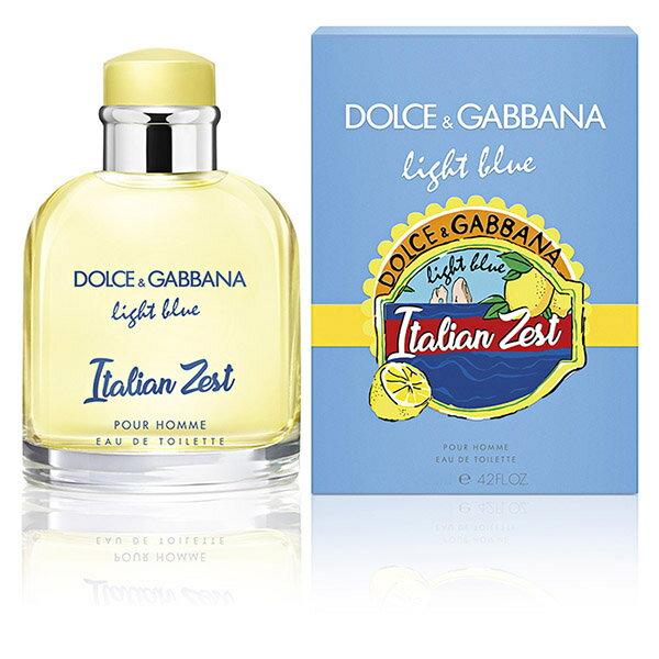 ◆激安【DOLCE&GABBANA】メンズ香水◆ドルチェ&ガッバーナ ライトブルー イタリアンゼスト プールオムEDT 75ml◆