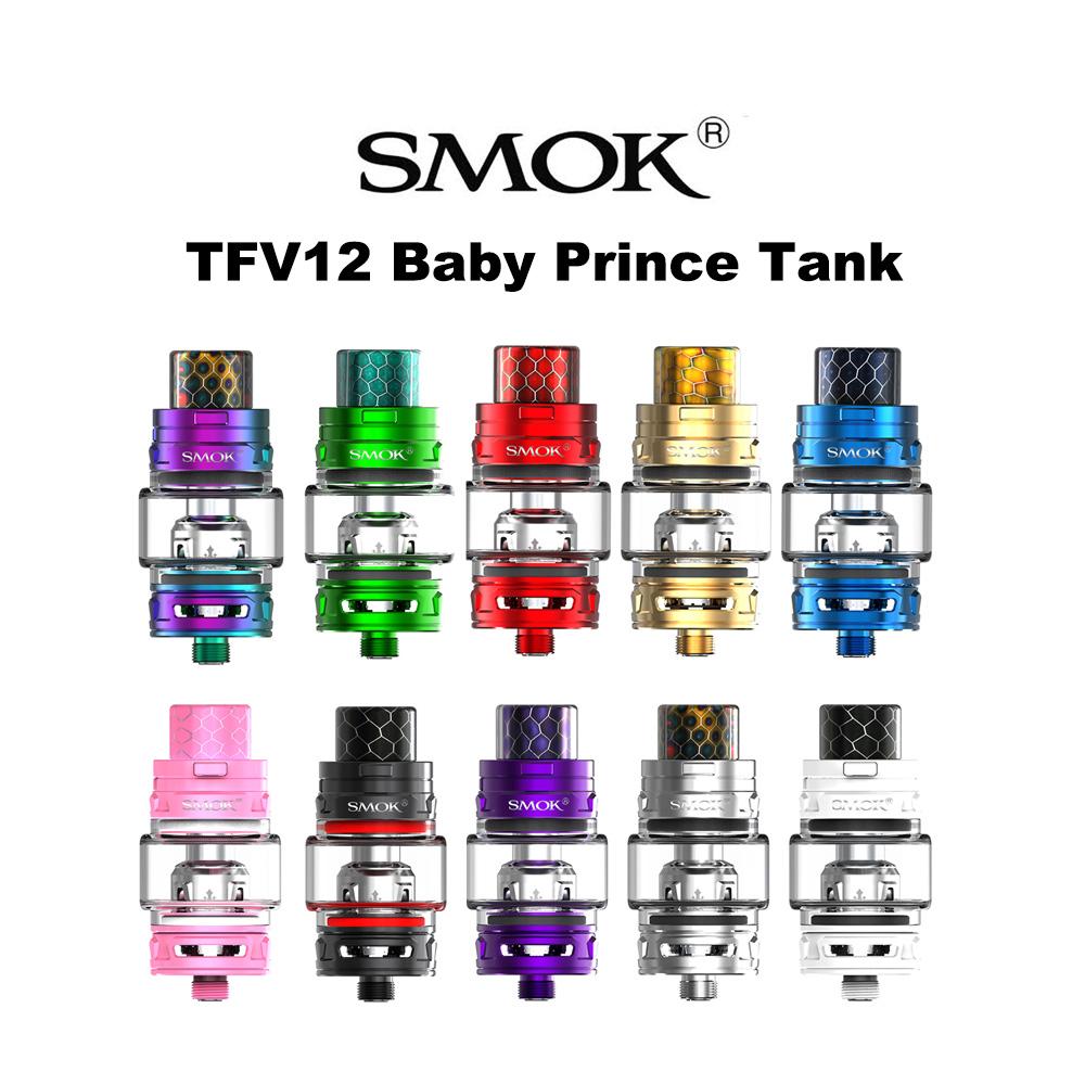 電子タバコ VAPE 正規品 送料無料 SMOK TFV12 Baby Prince Tank スモック ベイビープリンスタンク 4.5ml 電子タバコ 電子たばこ アトマイザー VAPE MOD