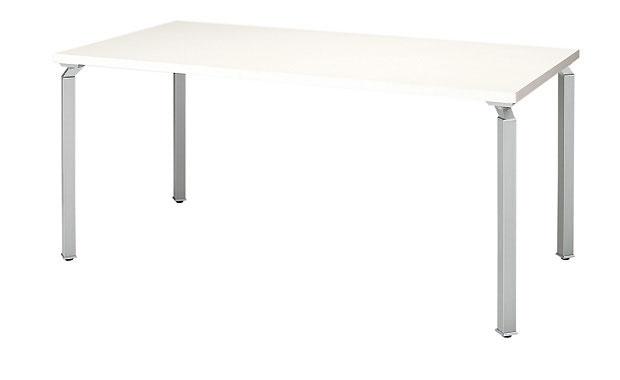 ナイキ 会議用テーブル WK1575MT 【幅1500mm×奥行750mm×高さ700mm】【カラーは2色から選択可能】