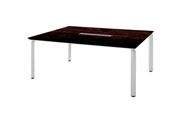 ナイキ 会議用テーブル WAKE (ウエイク) WK18125H 【幅1800mm×奥行1200mm×高さ700mm】