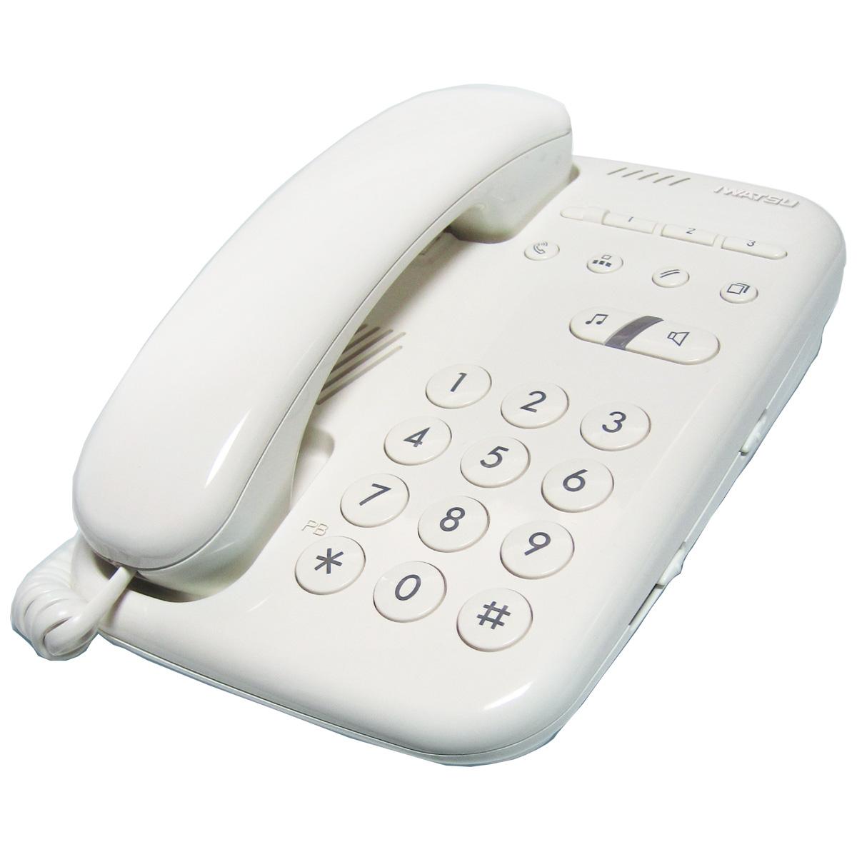 岩崎通信機 アナログ電話機(単独電話機) IW-01W