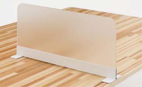 ウチダ フリーサイドパネル アクリルタイプ 5-204-2010 【幅500×高さ350mm】