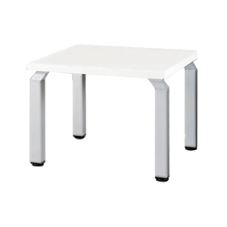 ナイキ 応接セット ZRE152型 コーナーテーブル WKD066 【幅600mm×奥行600mm×高さ450mm】【天板: 3色】