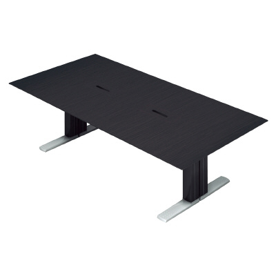 PLUS (プラス) 会議テーブル XF EXECUTIVE (エクセフ エグゼクティブ) XL-2412KZ BC バーチ突板タイプ 【幅2400mm×奥行1200mm×高さ720mm】