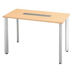 プラス 会議テーブル 長方形タイプ HL-150HPR 【幅1500mm×奥行750mm×高さ1000mm】【天板カラー: ホワイトメープル】