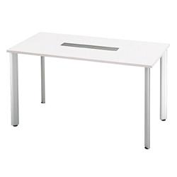 プラス 会議テーブル 長方形タイプ HL-180HPR 【幅1800mm×奥行900mm×高さ1000mm】【天板カラー: ホワイト】