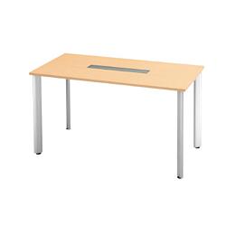 プラス 会議テーブル 長方形タイプ HL-180HPR 【幅1800mm×奥行900mm×高さ1000mm】【天板カラー: ホワイトメープル】