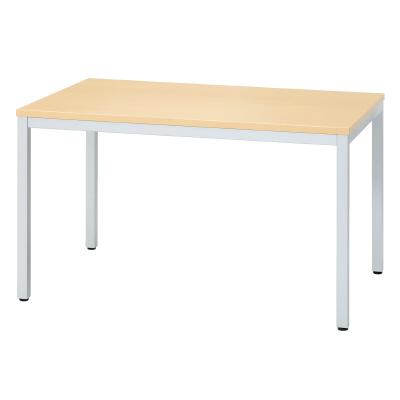 プラス ミーティングテーブル MT-A112 【幅1200mm×奥行800mm×高さ700mm】【天板カラー: ナチュラル】