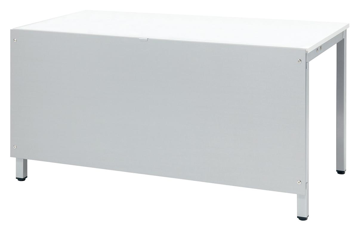 プラス フリーアドレスデスク Mulpose(マルポス) 幕板 ML-M1400 【ML-1475用】【幅1390×高さ600mm】【カラー:シルバー】