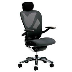 イナバ オフィスチェア Xair (エクセア) SS1020~SS1227 【肘付、ヘッドレスト付タイプ】【背・座カラー8色、フレーム・ヘッドレストカラー4色からお選び下さい】