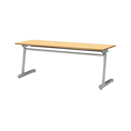 PLUS (プラス) フォールディングテーブル MF-J620 【幅1800mm×奥行600mm×高さ700mm】【幕板なし】【天板カラー: 3色】