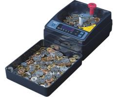 エンゲルス 手動小型硬貨選別機 コインカウンター SCC-10