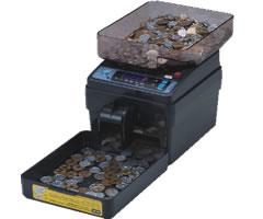 送料無料 サービス エンゲルス 上品 電動小型硬貨選別機 コインカウンター SCC-20
