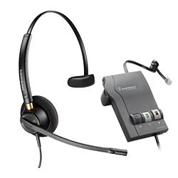 コード付ヘッドセット HW510 + 固定電話機接続用アンプ Vista M22