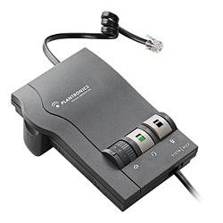 プラントロニクス 固定電話機接続用アンプ Vista M22 【プラントロニクス製ヘッドセットを固定電話機に接続するアダプタ】【受話音量、送話音量調節可能】【ミュート機能付】