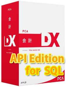 15CAL for 会計DX SQL Edition API PCA