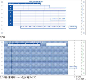 応研 春の新作 KY-402 価格 交渉 送料無料 支給明細書 3P 封筒式