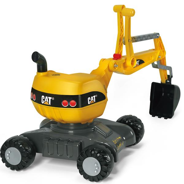 ロリートイズ rolly toys ロリーディガー ディガー CAT 421015 送料無料 子供 室内 乗り物 おもちゃ 車 乗れる 1歳 2歳 3歳 車のおもちゃ乗り物 乗用 屋外 足けり 誕生日プレゼント 誕生日 女の子 男の子 女 男
