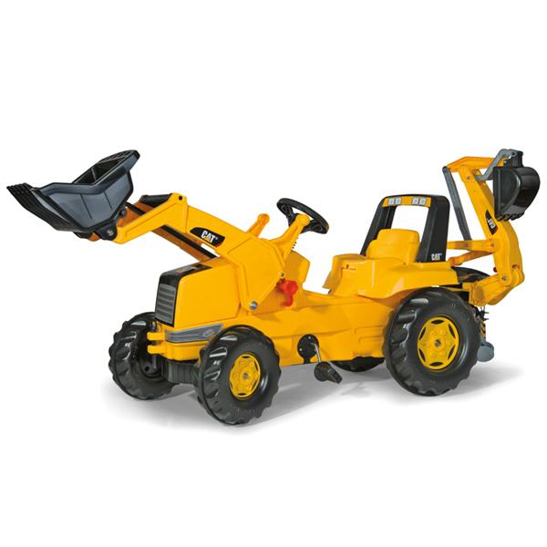ロリートイズ rolly toys ロリージュニア CAT ジュニアトラック 813001 送料無料 子供 室内 乗り物 おもちゃ 車 乗れる 1歳 2歳 3歳 車のおもちゃ乗り物 乗用 屋外 足けり 誕生日プレゼント 誕生日 女の子 男の子 女 男