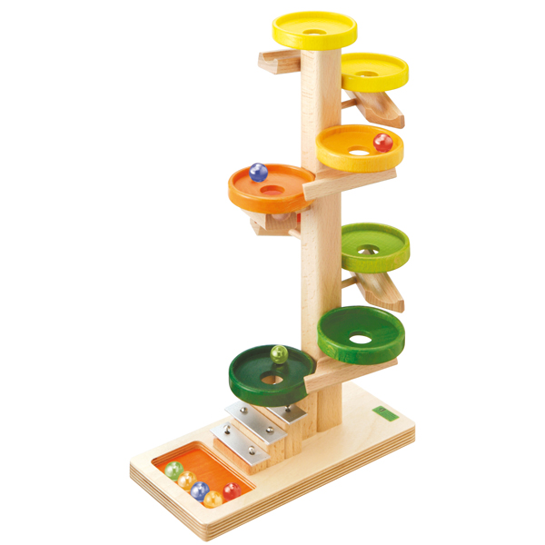 BECK トレイクーゲルタワー・レインボー BE20030R 送料無料 (知育玩具) おもちゃ 木製 ドイツ製 誕生日プレゼント 1歳 2歳 3歳 4歳 5歳 出産祝い 女の子 男の子 積み木 学習トイ 学習