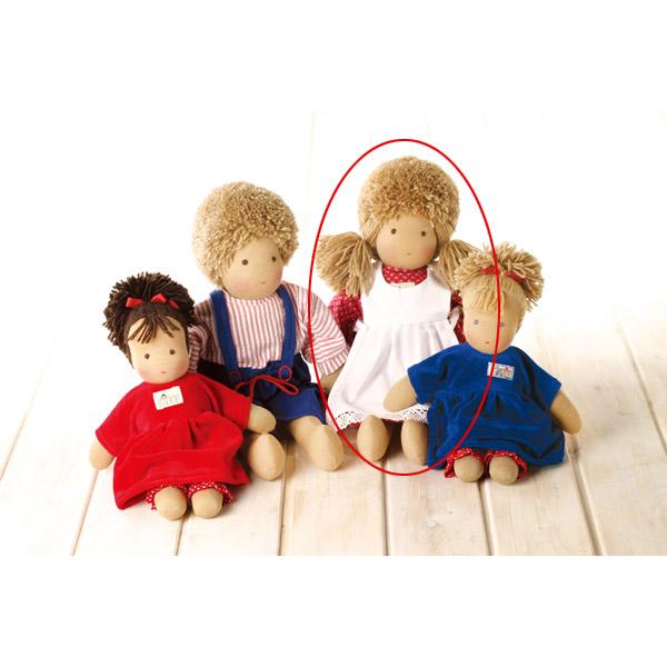 シルケ シルケ SI10100 送料無料 (着せかえ人形) 知育玩具 1歳 1歳半 2歳 3歳 4歳 おもちゃ 出産祝い 赤ちゃん 人形 学習トイ 学習 ごっこ遊び ままごと