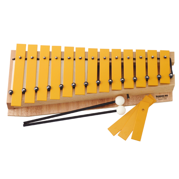 音板を取り外して、ペンタトニック楽器にもできます。 スタジオ49 モデルグロッケン アルト・D STGAD 送料無料 (楽器玩具) 知育玩具 出産祝い 楽器玩具 おもちゃ 知育玩具 0歳 1歳 2歳 3歳 4歳 クリスマスプレゼント 子供 おもちゃ 知育 男の子 女の子 赤ちゃん 小学生 プレゼント