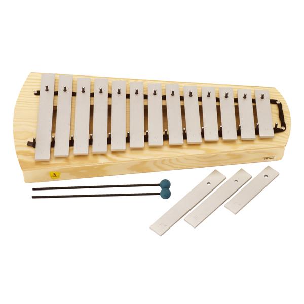 リズム 音楽 12ヵ月 学習トイ スタジオ49 卓上メタロフォン・ソプラノ STSM1000 送料無料 楽器玩具 知育 知育玩具 出産祝い おもちゃ 0歳 1歳 2歳 3歳 4歳