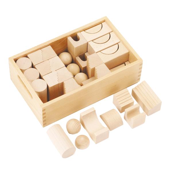 ベルフリッツ WEHRFRITZ 保育積木・Hセット WF025233 送料無料 知育玩具