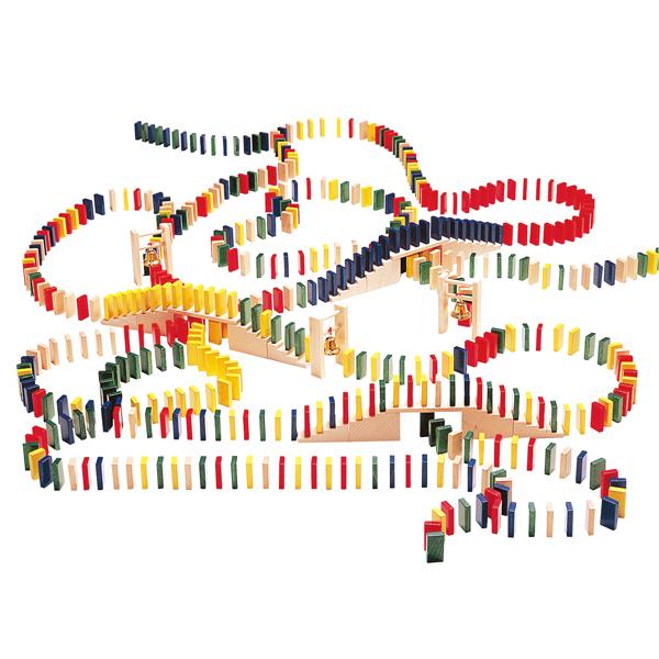 ベルフリッツ WEHRFRITZ ドミノレースセット WF133011 送料無料 知育玩具【あす楽対応】