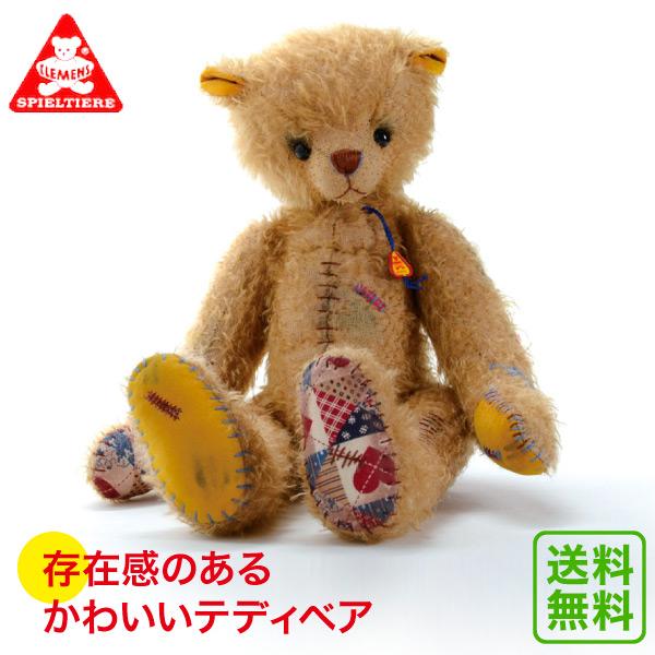 クレメンス オールドトムベア CL22032 送料無料 (ぬいぐるみ、人形) 知育玩具 テディベア ぬいぐるみ くま ドイツ アンティーク 人形 おもちゃ 学習トイ 学習 ごっこ遊び ままごと
