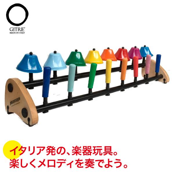 リズム 音楽 12ヵ月 学習トイ ジトレ フリップベル GI745/18 送料無料 知育玩具 おもちゃ 楽器 0歳 1歳 1歳半 2歳 3歳 4歳 誕生日プレゼント 女の子 男の子