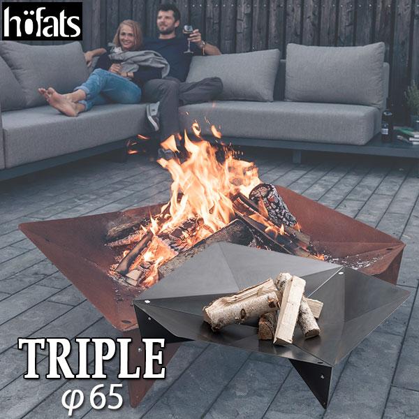 hoefats(ホーファッツ) TRIPLE(トリプル) 65 Fire bowl ファイヤーボウル TRIPLE65 h050101