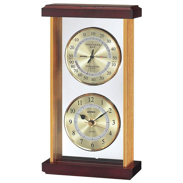 エンペックス スーパーEX温・湿度・時計 EX-742 S22908 ギフト 贈り物 内祝い ギフト プレゼント お返し お歳暮 お中元