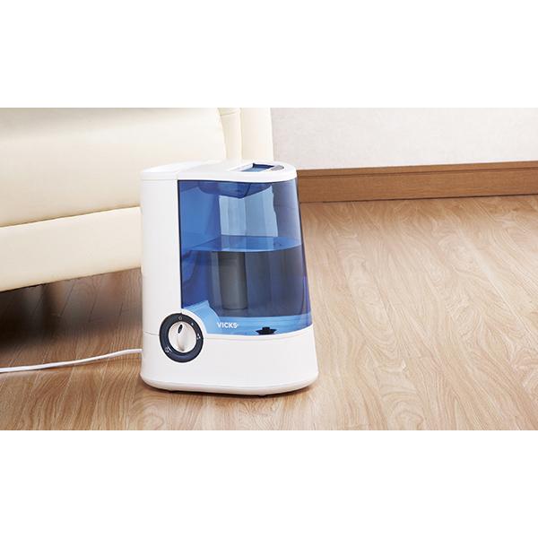 ヴィックス スチーム加湿器&リフレッシュ液 V750K 122-T011 送料無料