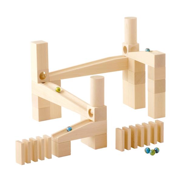 積み木 学習トイ ブロック ハバ HABA 組立てクーゲルバーン・スターターキット HA1128 知育玩具 HABA 知育 おもちゃ 0歳 1歳 1歳半 2歳 3歳 4歳 5歳 6歳 女の子 男の子 出産祝い 木のおもちゃ 木製