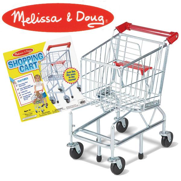 Melissa&Doug メリッサ&ダグ ショッピングカート MD4071 送料無料 知育玩具
