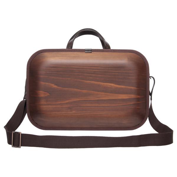 モナッカ monacca bag kaku バック 角 ブラウンエッジ SS BK-BSS 送料無料