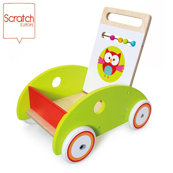 SCRATCH スクラッチ ウォークヘルプ フクロウのルー SC1433 送料無料 知育玩具