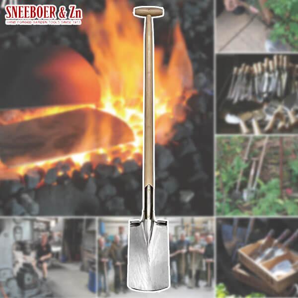 SNEEBOER スネーブール Spade with Steps 90cm handle スペイド スコップ ステップ付 3024 送料無料