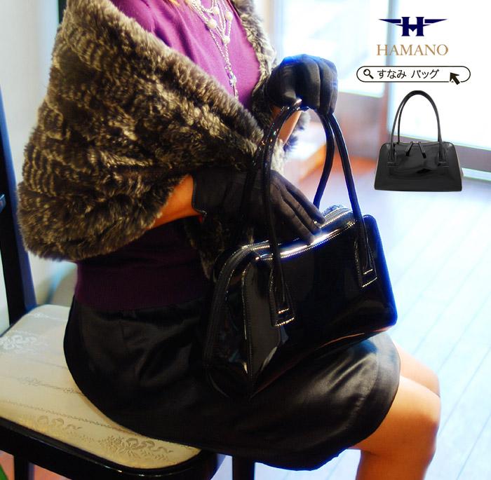 Hamano Leather Enamel Handbag Bag Celebrity And Vere Luce Handbags